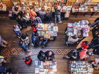 Pesquisa revela aumento no número de livros vendidos