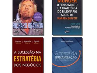 Quatro livros de gestão e negócios que você precisa conhecer