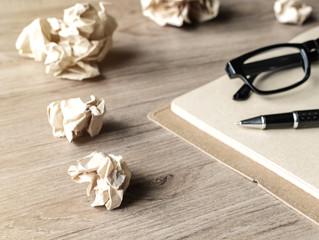 Erros que você não pode cometer ao escrever seu livro