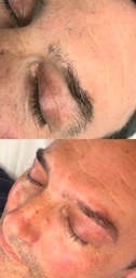 Male brow grooming