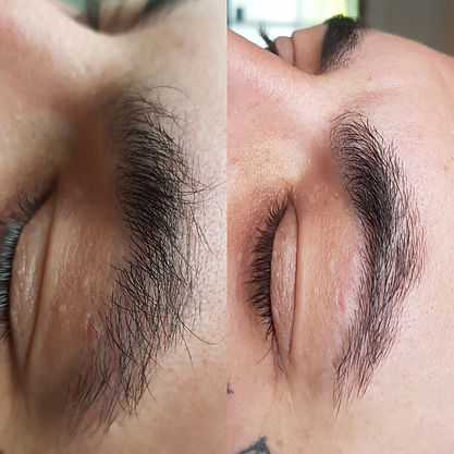 Manderville Aesthetics Male Brow groomin