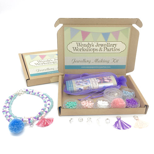 Jewellery Making Kit Anklets (Pliers incl.)