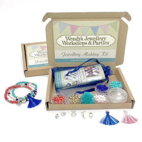 Jewellery Making Kit Stretchy Bracelets