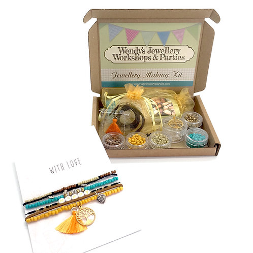 Exclusive Jewellery Making Kit Earth