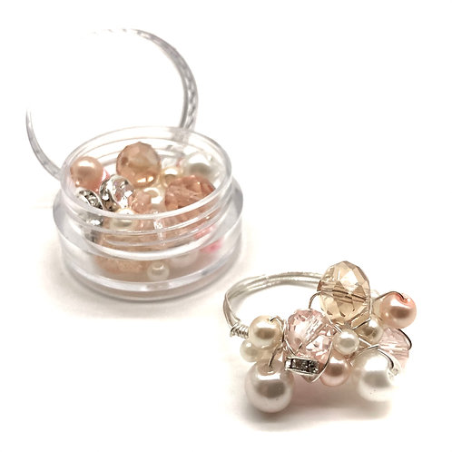 Jewellery Making Kit 'Cocktail' Rings