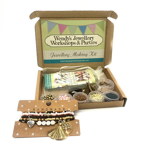 Exclusive Jewellery Making Kit Au Naturel