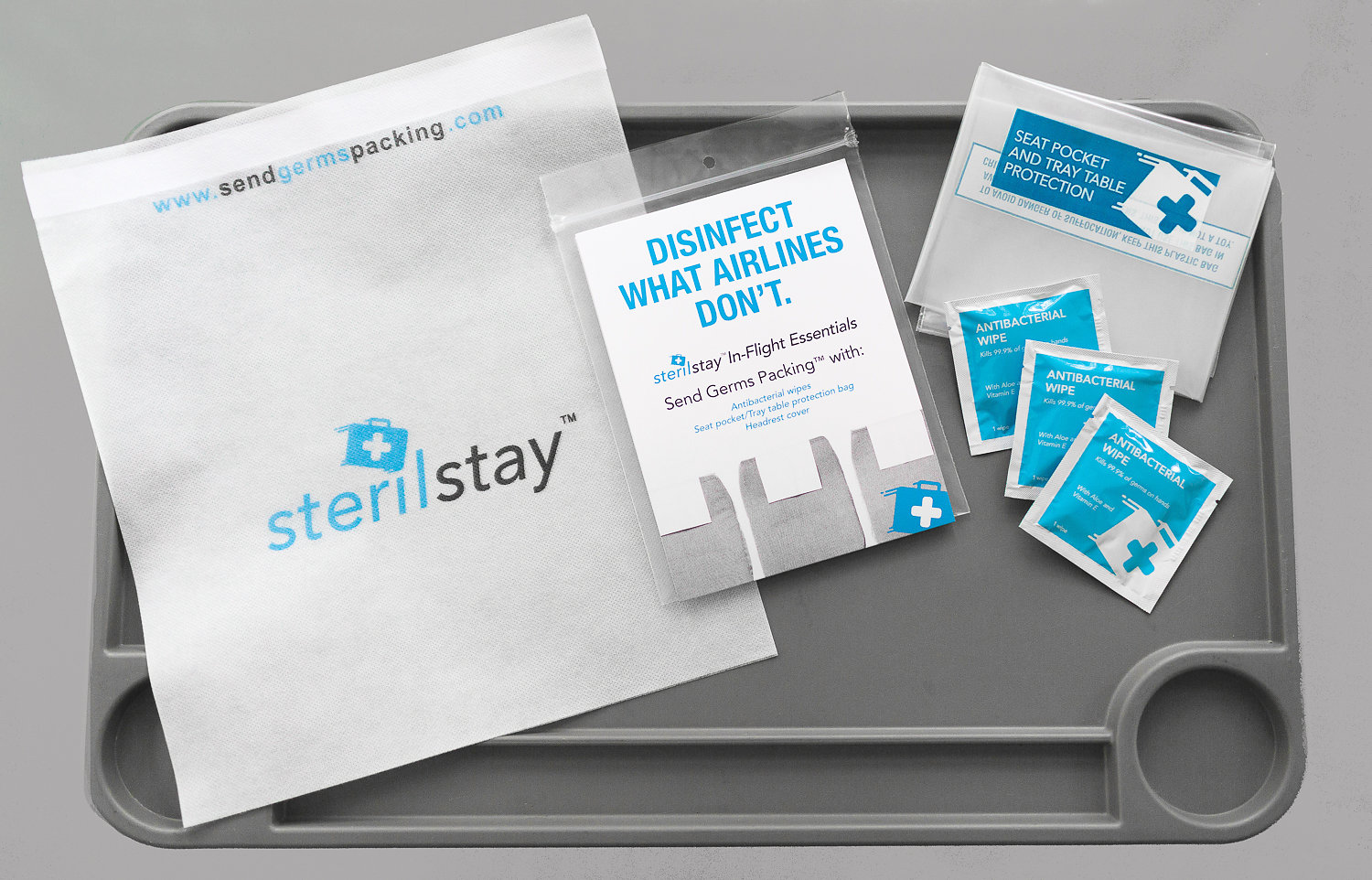 Steril Stay In-flight Essentials Kit