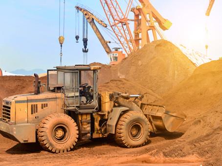 Construção e conservação de estradas de mina a céu aberto