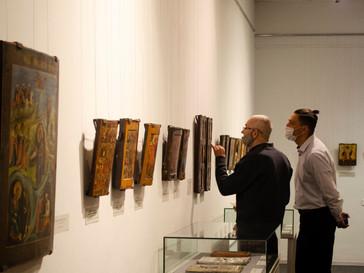 Выставка в Мурманском областном музее изобразительных искусств с участием произведения из коллекции