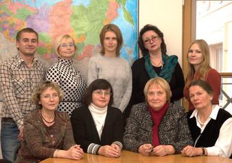 Сотрудники отдела, 2013 год