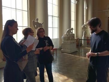 Окончание стажировки «Музейная школа для сотрудников Культурно-выставочного центра Русского музея»