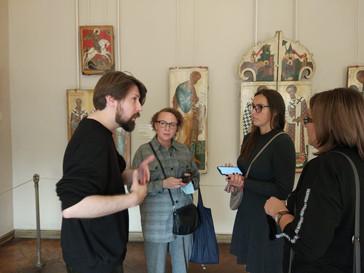 Открытие стажировки  «Музейная школа для сотрудников Культурно-выставочного центра Русского музея»