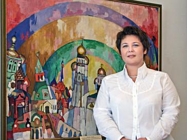 Поздравляем директора Ярославского художественного музея А.В. Хатюхину!