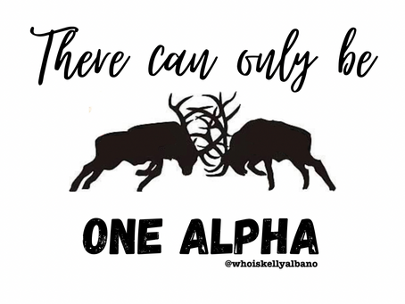 There can only be ONE Alpha
