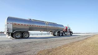 ciężarówka olej