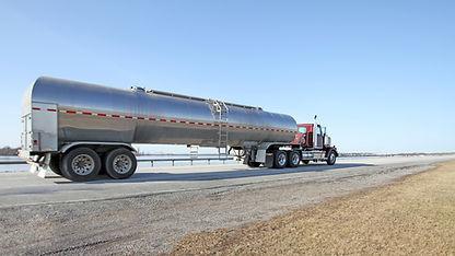 caminhão de óleo