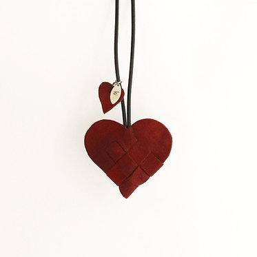 Secret Heart i rødt skind