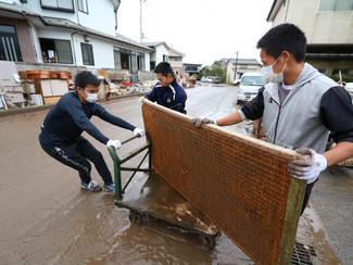 【台風19号】片付けボランティア