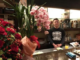 瀬戸史弥くん(15期生)がリゾートバーをオープン