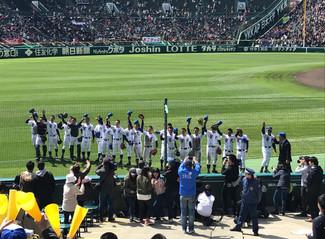 第90回選抜甲子園 初の開幕試合