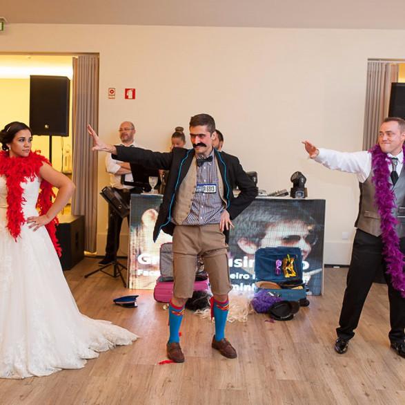 Danças esclusivas e unicas com os noivos