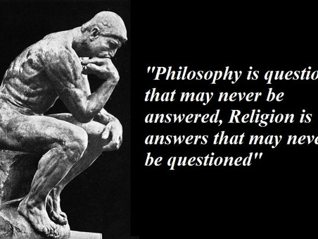 PHILOSOPHY VS RELIGION