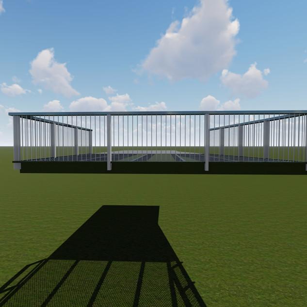 3D rendering under planning permission central coast
