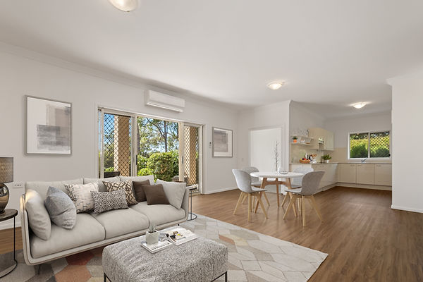 Aged Care living virtual staging services