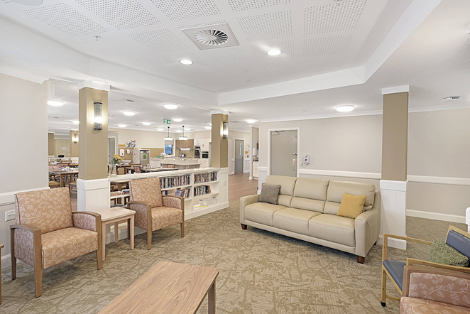 residential aged care digital marketing media images