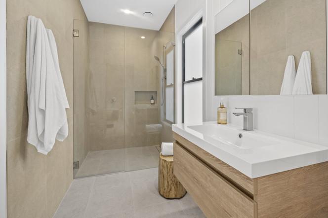 New bathroom  photography media services