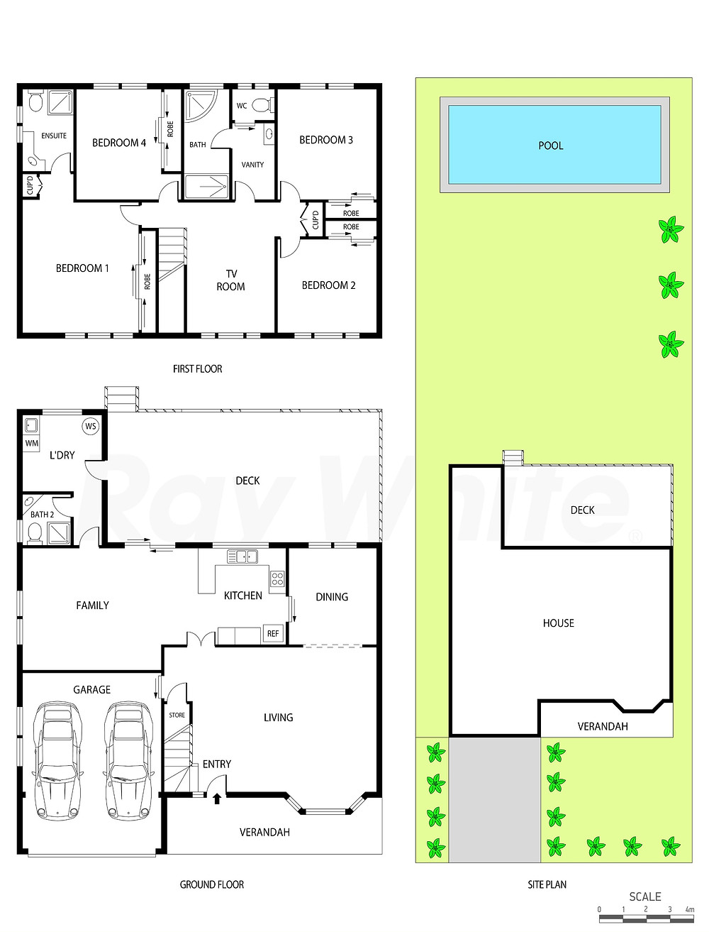 central coast real estate photography site plan service