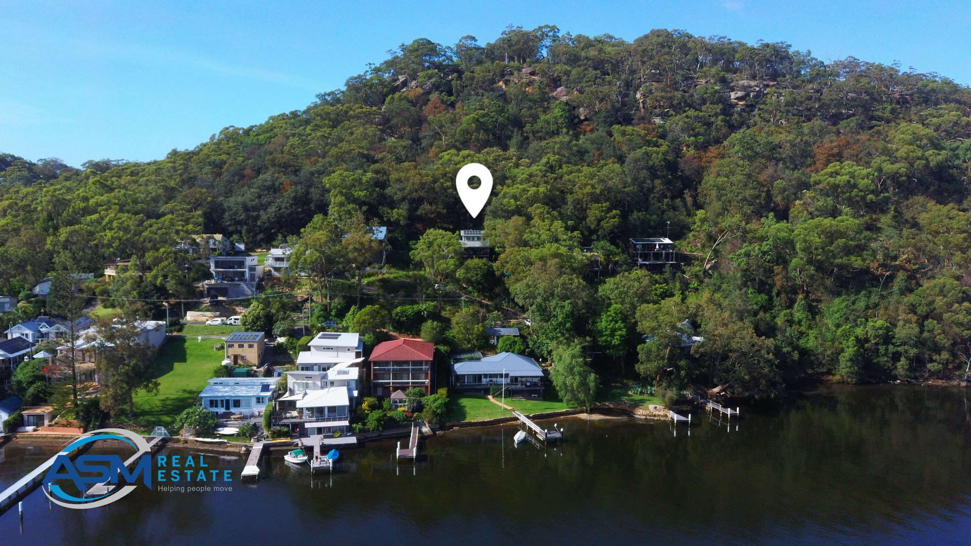 professional drone real estate photograp