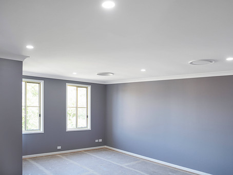 Commercial photography provided for ceiling repair company