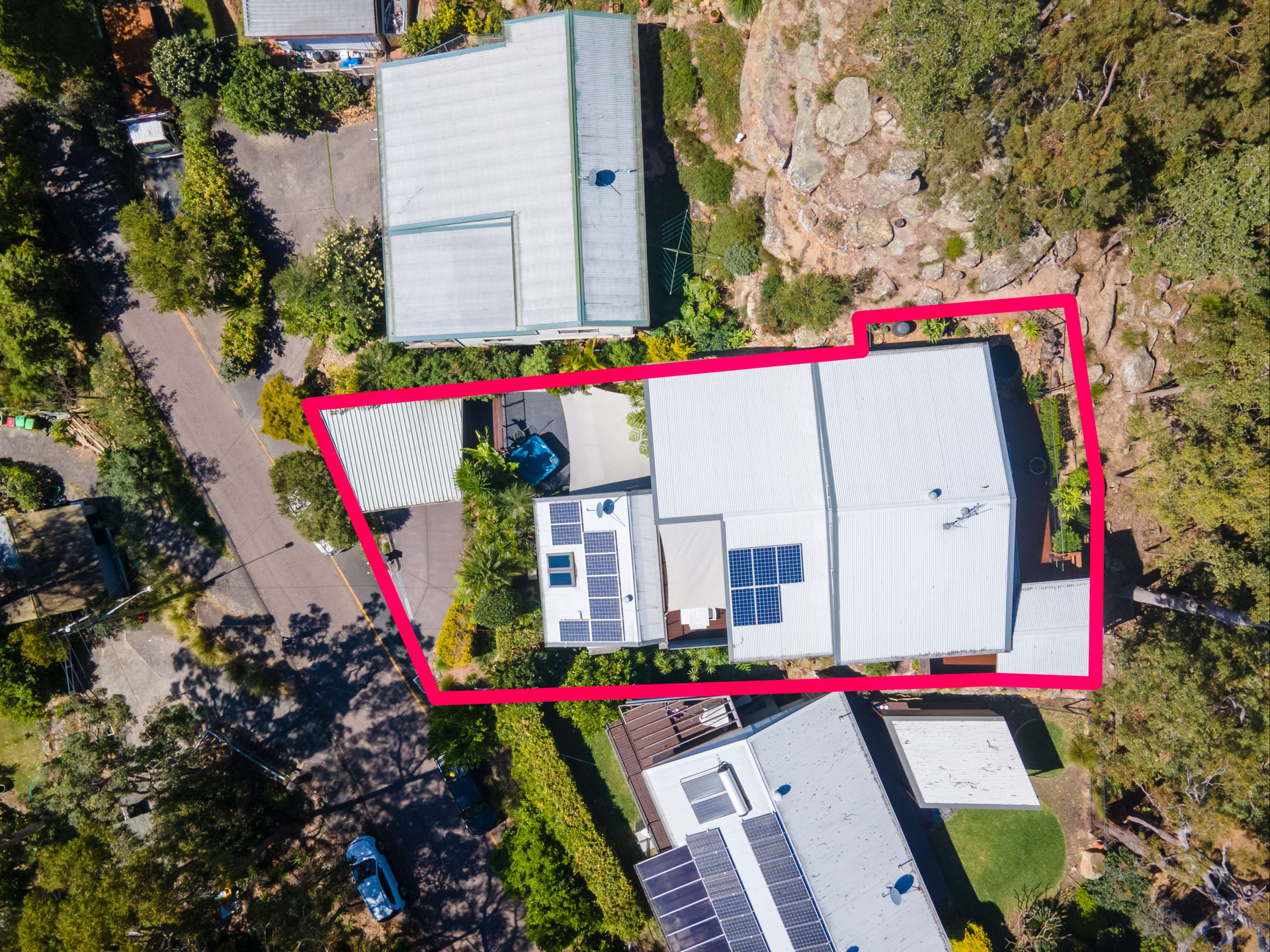 aerial drone property photography