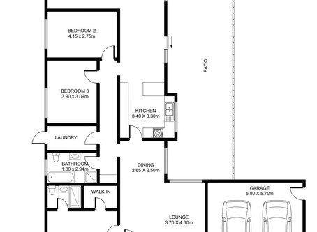 iDeal Photography Real Estate Floor plan Service