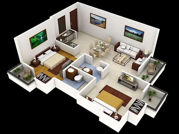 Sydney real estate 3d floorplan