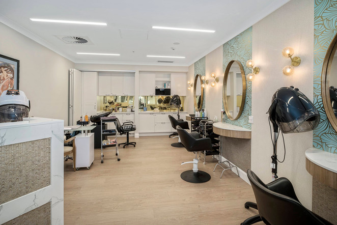 Aged Care retirement living hairdressing facilities