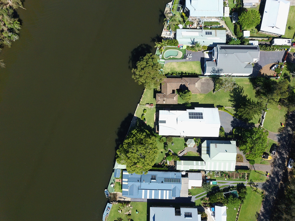 drone property photography for real estate central coast