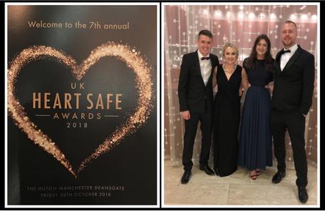 Domis Shortlisted at UK Heart Safe Awards