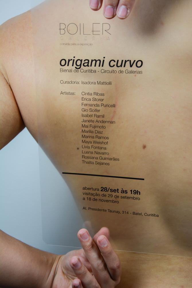 Origami Curvo - Circuito Galerias Bienal de Curitiba - Boiler