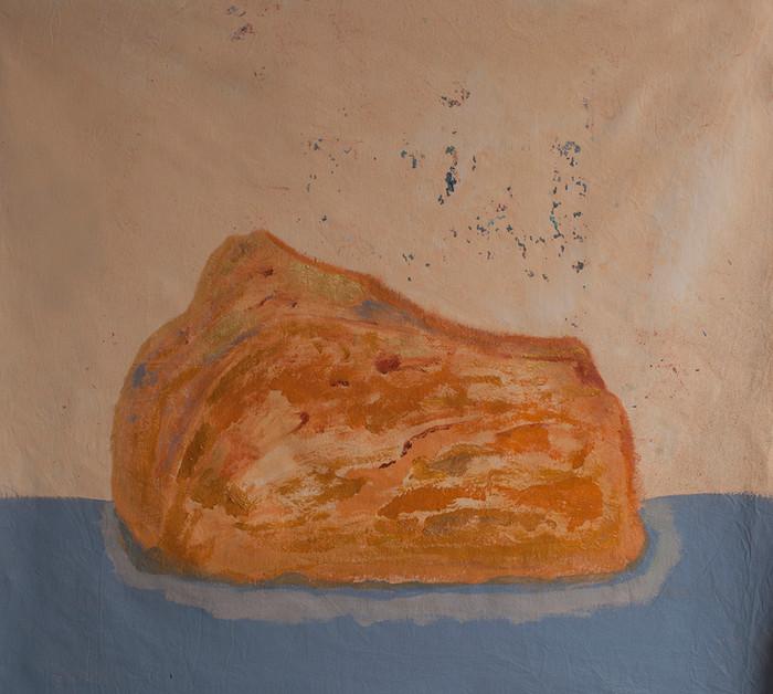ourange, pedra bruta, cabeça de felino, 2018