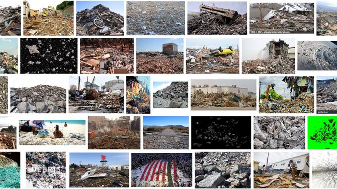 #debris e as feridas do planeta