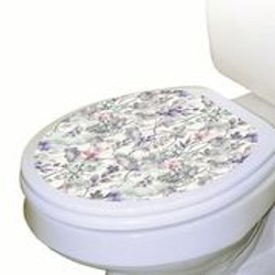 TT Fairy Floral on Toilet