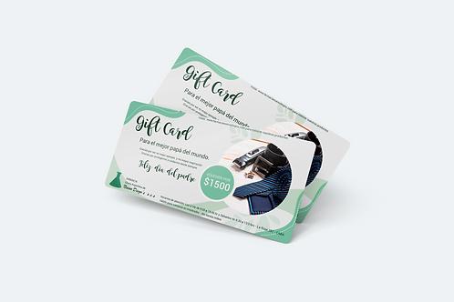 GIFT CARD para papá