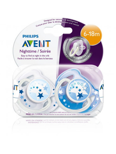 PHILIPS AVENT Chupetes X2