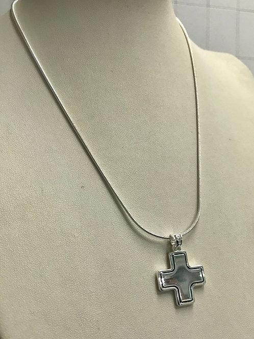Collar + dije cruz