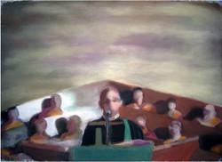 Untitled (preacher) 2006