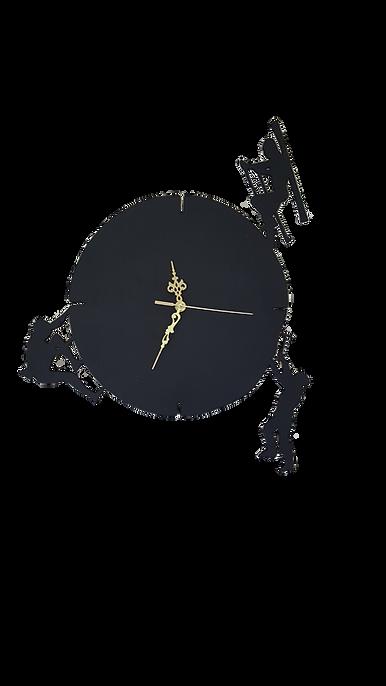 horloge déco bois chantournée horloge montagne