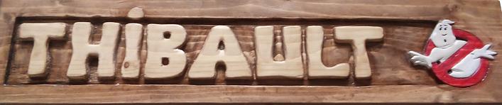 prénom sculpté dans le bois pour decoration unique