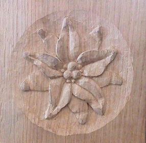 edelweiss sculpté